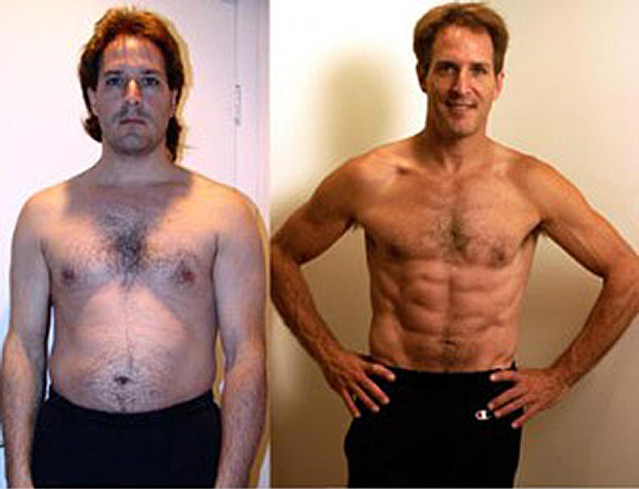 Perry Tinsley P90X Transformation