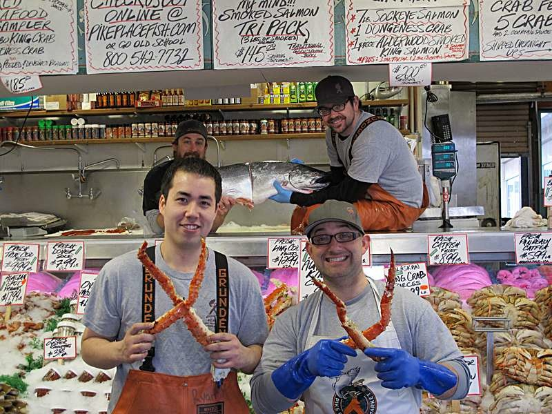 Pike Place Fish Market P90X Month 1