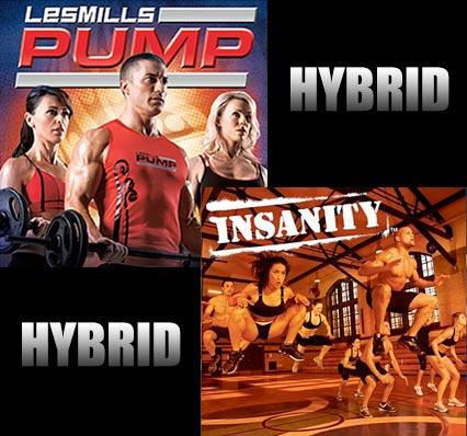 Les Mills Pump - Insanity Hybrid