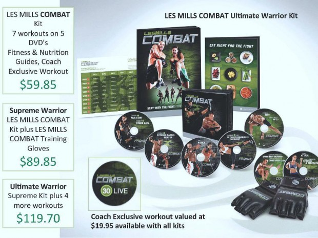 Les Mills Body Combat Ultimate Warrior Kit