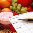 Weekly Meal Planner Template for Weight Loss and Good Health