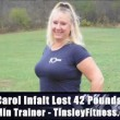 Carol Lost 42 Pounds in 3 Months with 10 Min Workouts