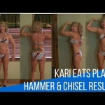 Kari Eats Plants! Her Hammer and Chisel Results